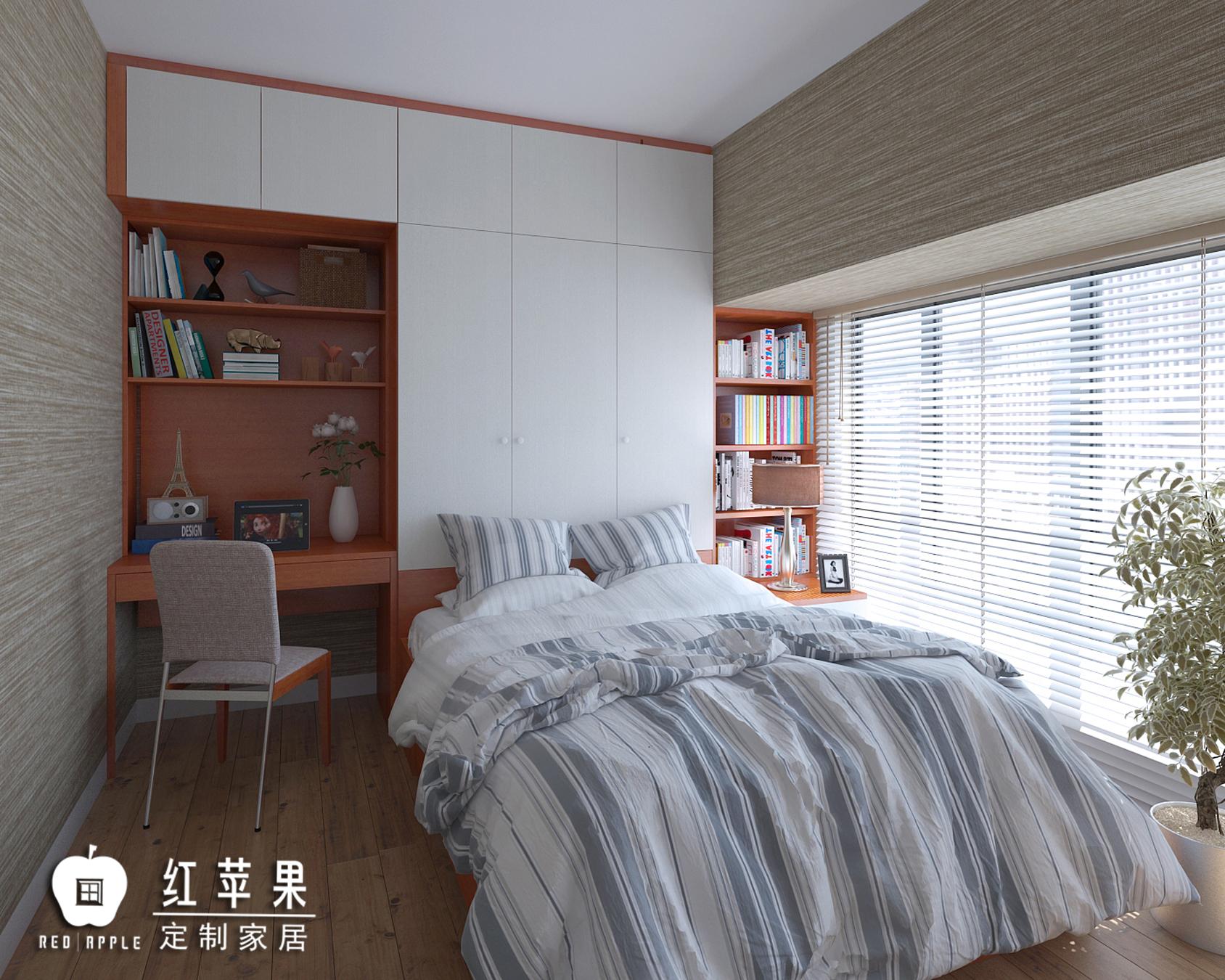 深圳万科红-次卧室3A